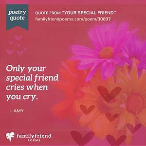 Your Special Friend, Special Friend Poem