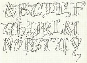 modern decorated letter alphabet exemplar typography and With decorated letters ofthe alphabet