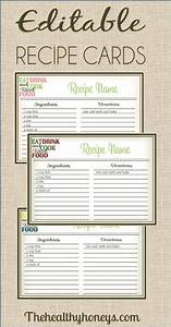 25 best ideas about printable recipe cards on pinterest With online recipe book template