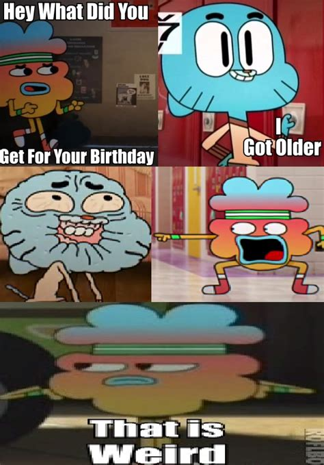 Amazing World Of Gumball Meme - gumball asdf 6 the amazing world of gumball know your meme
