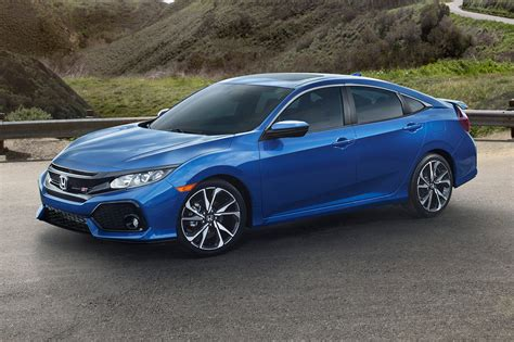 honda civic 2017 coupe 2017 honda civic si first look review motor trend