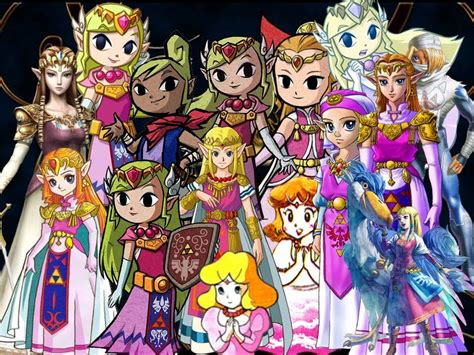Zelda Lady Geek Girl And Friends