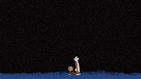 Download high quality 3d pc wallpapers. Stars calvin and hobbes night sky wallpaper   (67352)