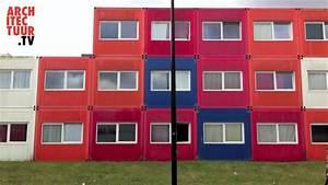 Container Studenten Berlin : student container housing ndsm docklands amsterdam nl youtube ~ Markanthonyermac.com Haus und Dekorationen