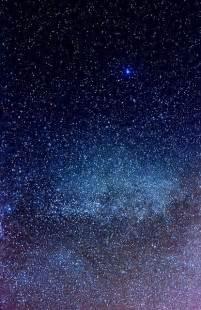 Starry Night Sky iPhone