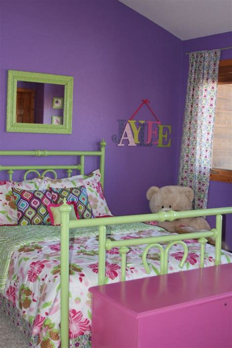 Bedroom Design Purple And Pink by Purple Green And Pink The Green Rooms