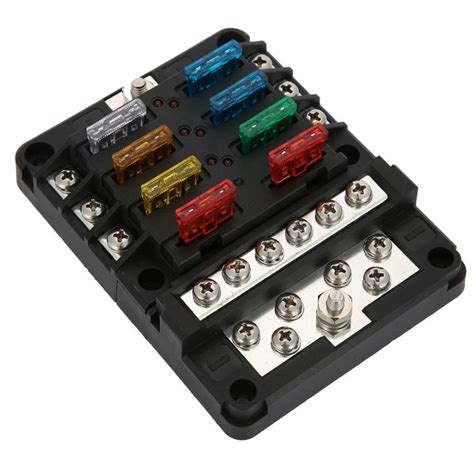Car Fuse Box Nz by Car Boat Fuse Dc32v 100a Blade Fuse Box Holder 12p
