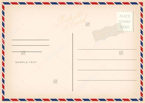 15+ Printable Postcard Templates - Free PSD, AI, Vector ...