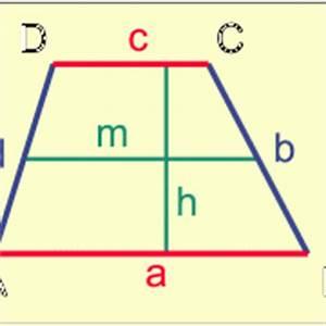 Innenwinkel Dreieck Berechnen Vektoren : trapez in mathematik sch lerlexikon lernhelfer ~ Themetempest.com Abrechnung