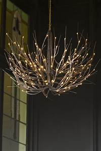 Artificial twig chandelier christmas essentials home