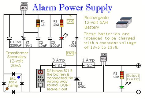 alarm circuit page  security circuits nextgr