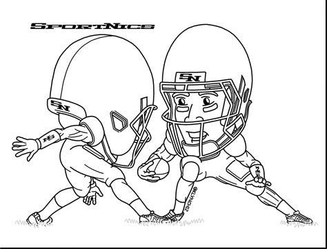 football player coloring pages advance thuncom