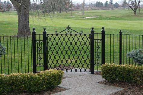 wrought iron fence wrought iron fences old dutchman s wrought iron inc