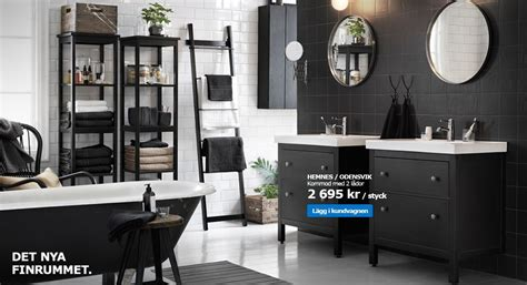 Ikea Küchenschrank Im Badezimmer by Ikea Hemnes Serien Bathroom In 2019 Salle De Bain