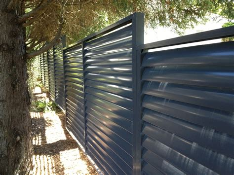 louvers fence  fixed welded louvers eco awnings