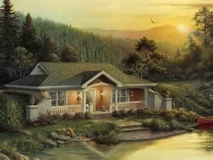 hillside cabin plans woodhaven cabin lodge house plan alp 09hk