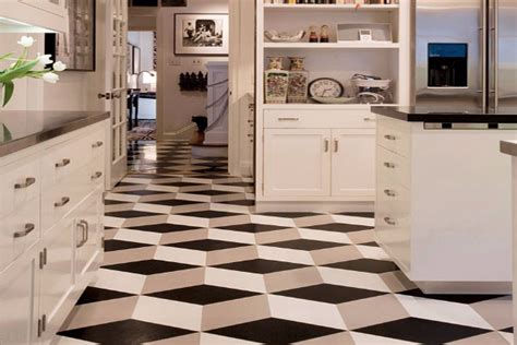 black and white kitchen flooring najbolje podne obloge za vaše kuhinje moj enterijer 7854