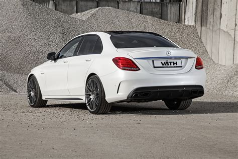 c63 amg tuning mercedes tuning vath gives mercedes amg c63 s a boost to 446kw