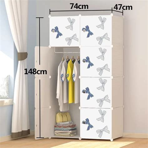 super quality european design bedroom furniture wardrobe plastic storage cabinet plastic