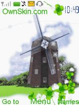 Windmill Wallpaper Animated - animated windmill mobile themes for nokia asha 203