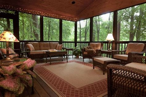 beautiful screened porches screened porch decorating on enclosed porch