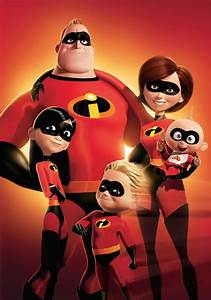 Image The Incredibles Superhero Family Poster jpg Disney Wiki FANDOM powered by Wikia