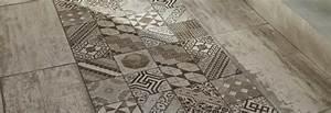 Tapis Pvc Carreaux De Ciment : les motifs carreaux de ciment de lapeyre le cachet et l harmonie ~ Teatrodelosmanantiales.com Idées de Décoration