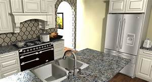 articad kitchen articad kitchen design pinterest With kitchen colors with white cabinets with papier peint trompe l oeil porte