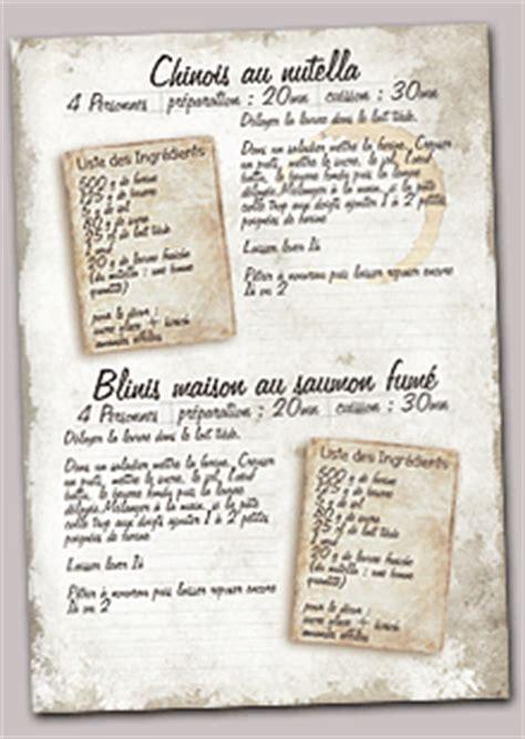 faire un livre de cuisine creer mon livre de recettes personnalisé
