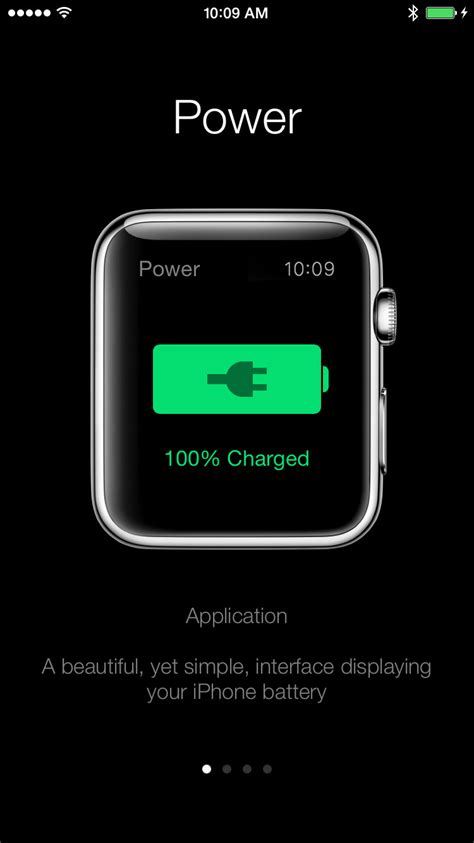 power sends iphone battery life notifications