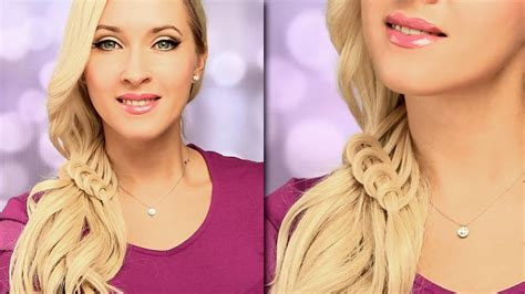 Braided Hairstyle For Everyday Cute And Easy Side Swept