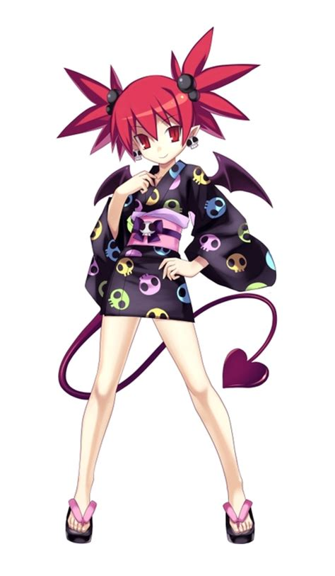 Tails video games etna demon girl japanese clothes anime girls 2096x3600 wallpaper High Quality ...