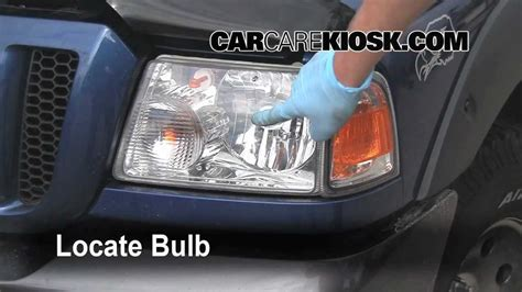 how to replace the headlight turn signal and tailights on
