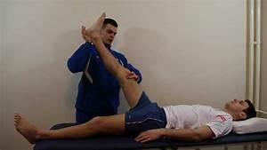 Single Straight Leg Raise Test - YouTube