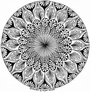 Wunderschne Blumen Mandalas Fr Erwachsene MandalaMalspiel