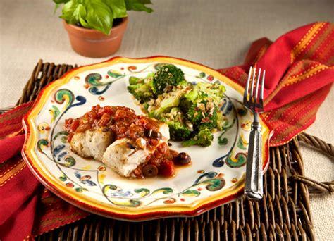 grouper puttanesca italian buon appetito