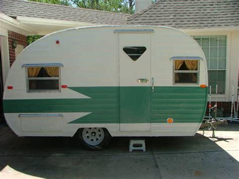 restored vintage travel trailer  sale