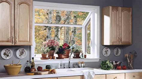 kitchen sink garden window types of home windows compare your options now modernize