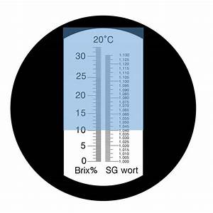 Light Alcohol Content Chart How To Use A Refractometer For Newtobrew
