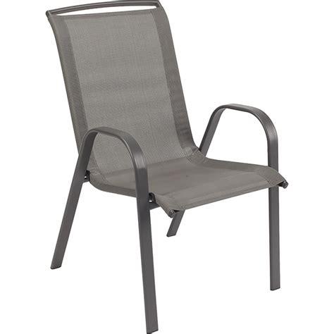 chaise d extérieur chaise d 39 extérieur empilable rona