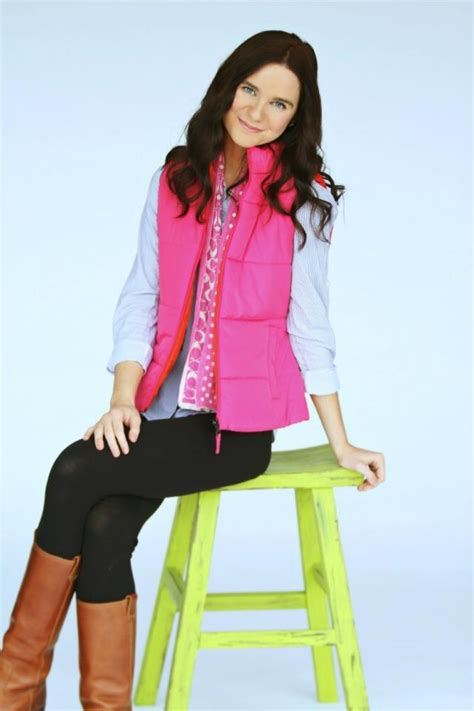 Preppy outfit gap vest coach scarf forever 21 oxford shirt and leggings j. crew riding boots ...