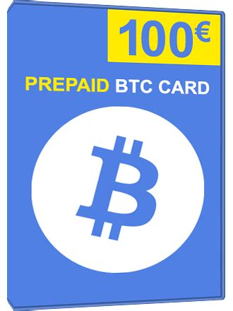Easy, fast and secure payment with over 50 different crypto currencies! Buy Prepaid BTC Card 100 Euro, Bitcoin - MMOGA