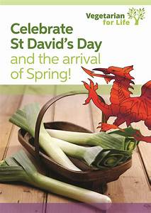 celebrate st david s day vegetarian for