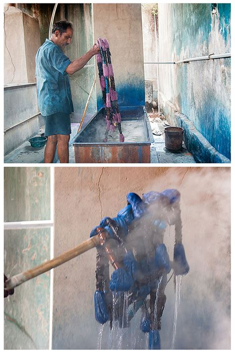 dyeing process weaving lungi making previous