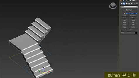 Home Design 3d Stairs by 3ds Max Create Stairs Tutorial
