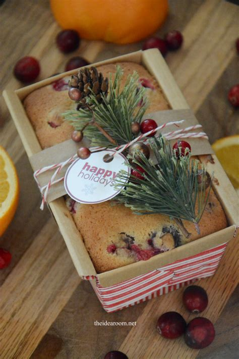 orange cranberry bread  idea room