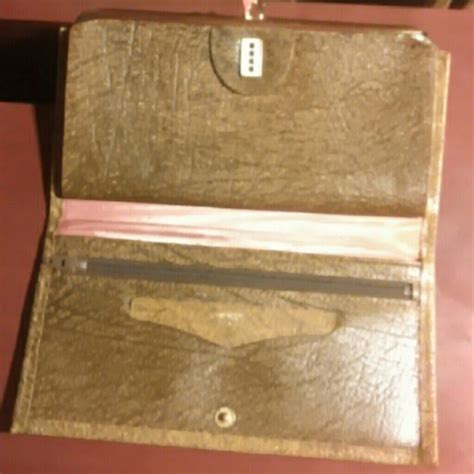 Amity Cowhide Wallet by Vintage No Longer Available Vintage Amity Cowhide