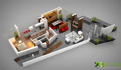 Kitchen Ideas For Small Apartments - 3d floor plan design interactive 3d floor plan yantram studio
