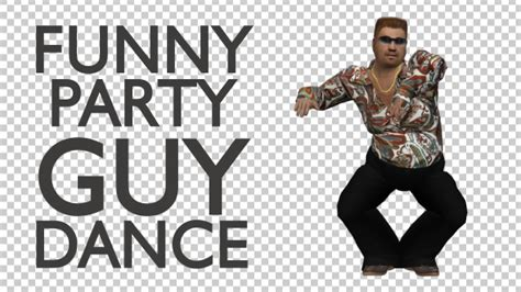 Funny Guy Party Dance By Handrox G VideoHive
