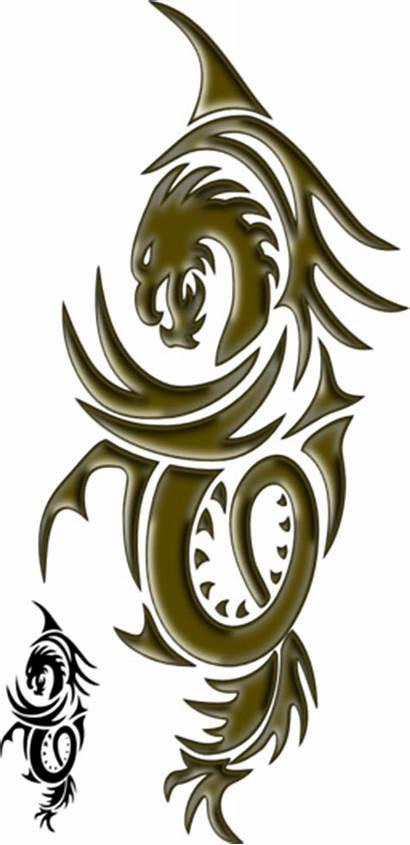 Dragon Tattoo Clipart Domain Clip I2clipart Px